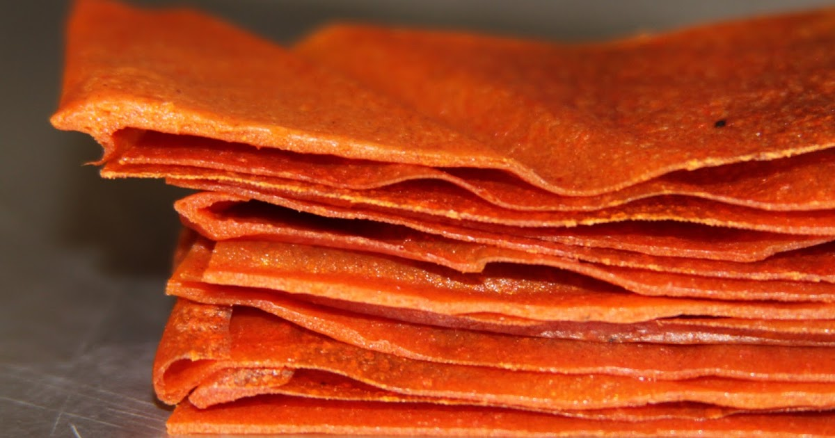 cooking out of the box: persimmon fruit leather