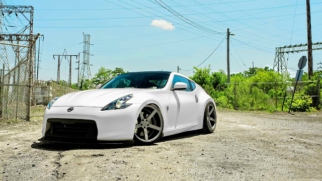Nissan 370z Vossen Wheels HD Wallpaper