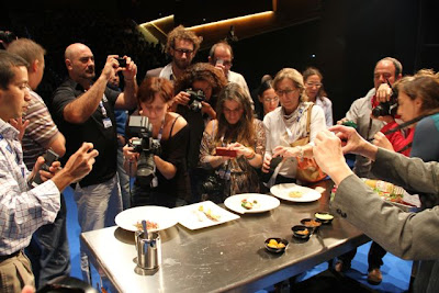 Periodistas, Gastronomika, Platos de Pascal Barbot, Restaurantes de Paris, Blog Esteban Capdevila