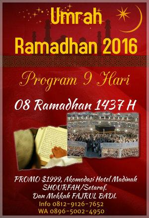 Paket Umroh 2016 - Ramadhan Naa Wisata