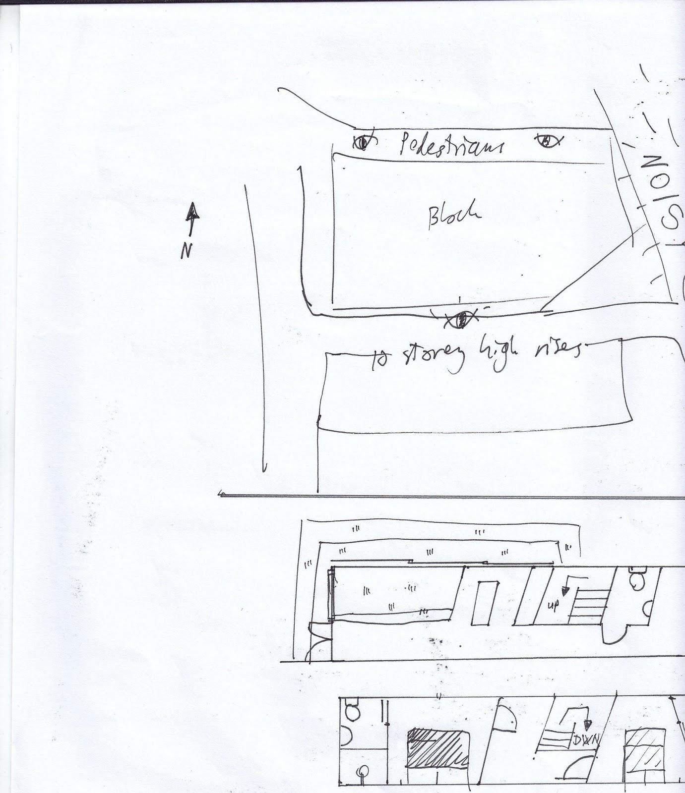 Living Room Floro Plan