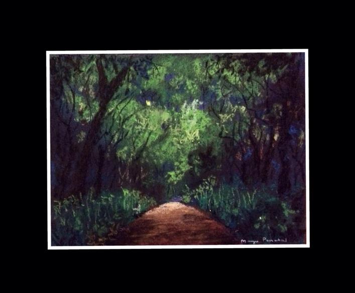 Painting of Matheran Landscape by Manju Panchal