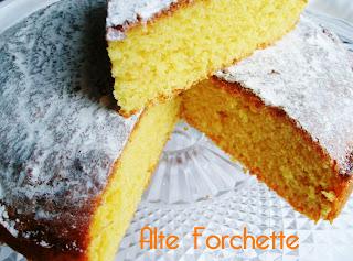 prima colazione: torta allo zafferano e ricotta
