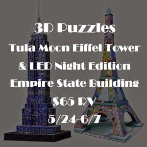 3D Puzzle Giveaway