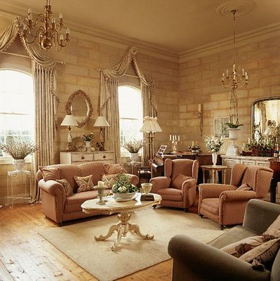 Modern furniture traditional living room decorating ideas for Living room 60 s