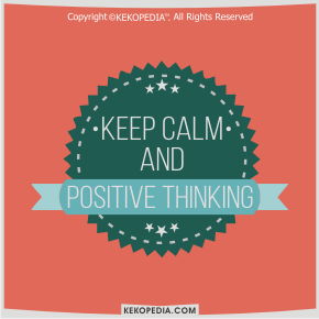 Dp BBM Positive Thinking