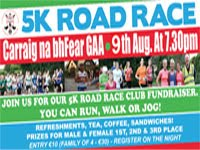 Carraig na bhFear 5k nr Cork City...Wed 9th Aug 2017