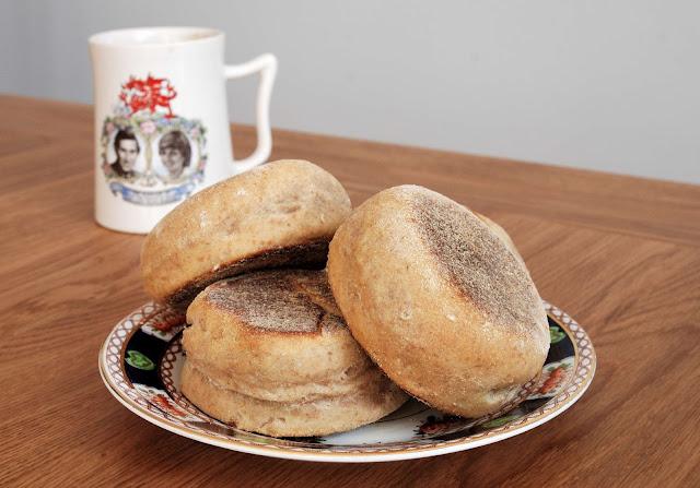 recette facile muffins anglais au ble et a l'epeautre