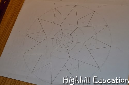 Drawing Straight Lines With A Ruler Worksheets : The helpful art teacher draw a one point perspective city and room