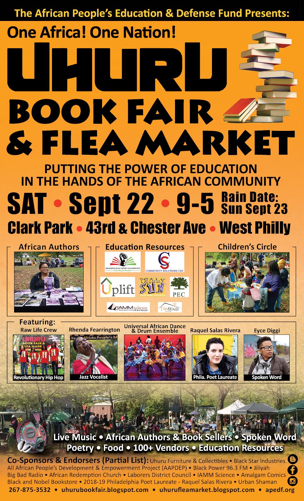 4th Annual Uhuru Book Fair & Flea Market
