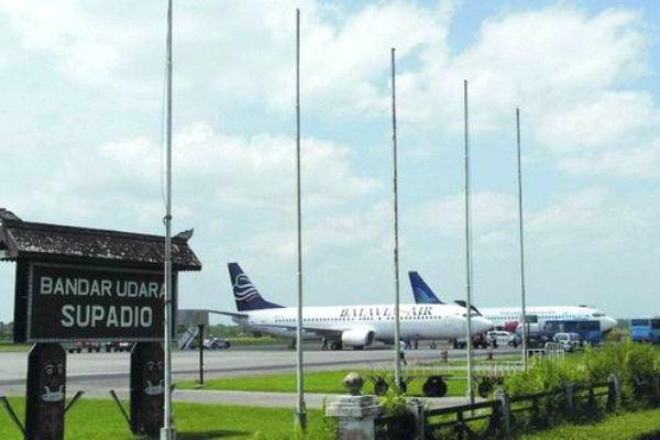 Bandara Supadio, Pontianak, Kalimantan Barat. ZonaAero