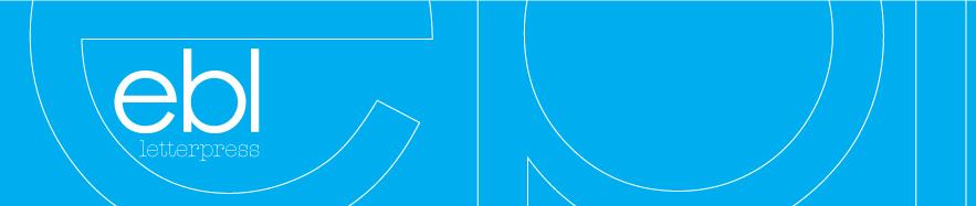 ebl letterpress