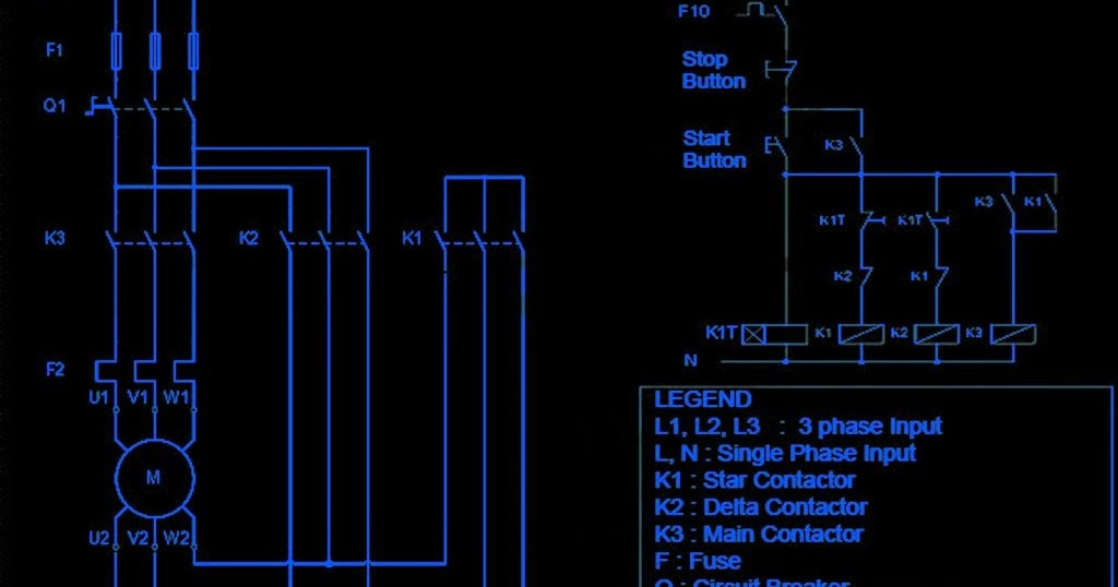 Three Phase Star   Delta       Wiring       Diagram      Electrical Winding