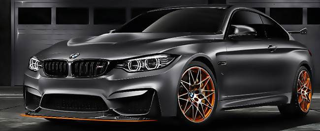 2016 BMW M4 GTS Redesign Concept