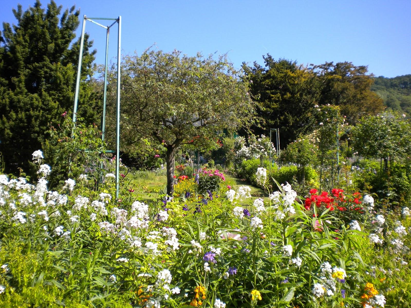Notre classe de fran§ais 2 0 Le jardin de Claude Monet  Giverny