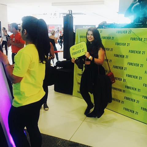 Inauguração Forever 21 Shopping Flamboyant com Nah Cardoso