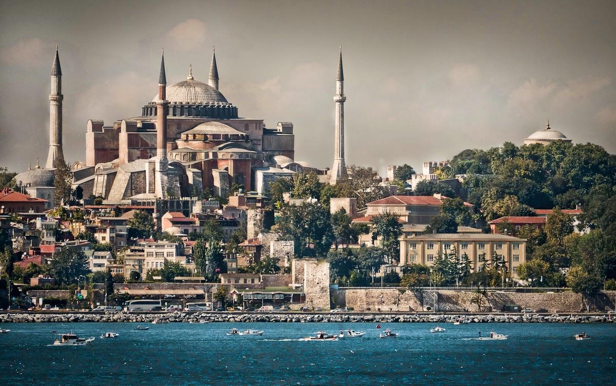 Nabawi Sorban Istanbul Merah8 Daftar Harga Terkini Dan Terlengkap Al Masykur Kuncir Hagia Sophia Dilihat Dari Laut Marmara