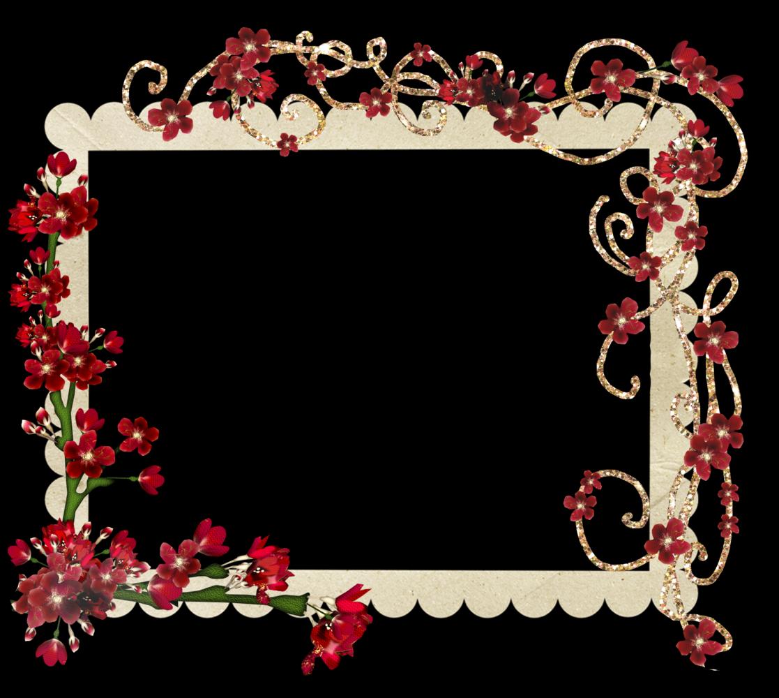 Marcospng fotos karenliz marcos de flores png - Marcos para plantas ...