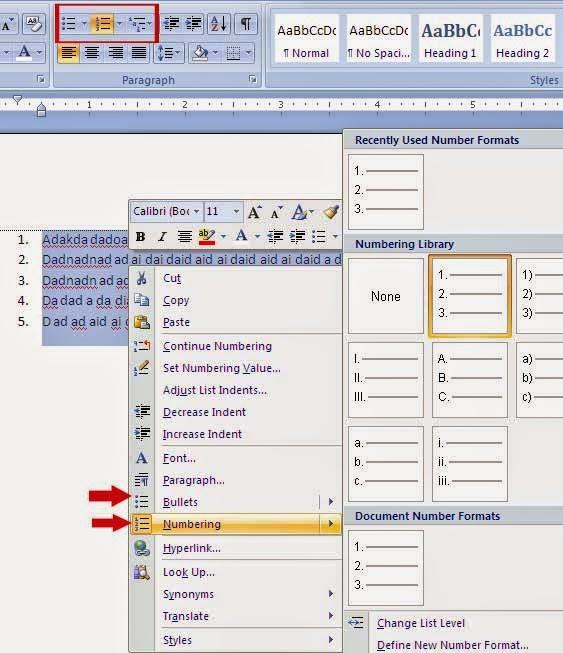 Cara menggambar pada microsoft office word menggunakan shapes setelah anda blog kata kata yang telah anda tulis kemudian klik kanan pada area dalam blog tersebut akan muncul jendela pilihan seperti pada gambar dan ccuart Gallery