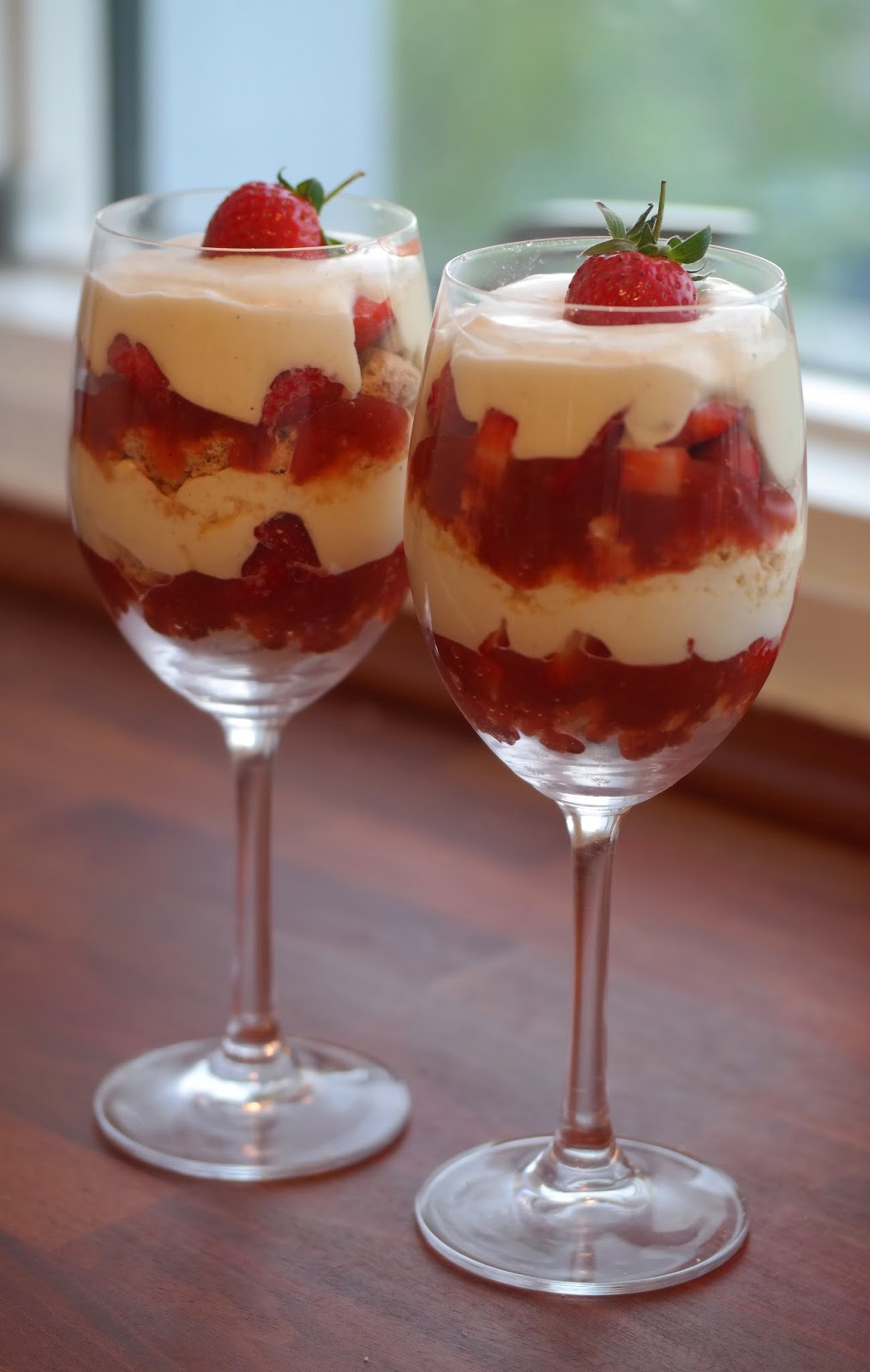 dessert frosne jordbær