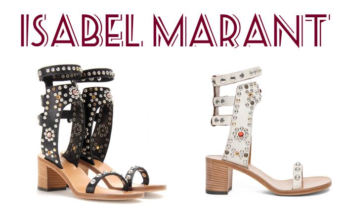 Sandalias Isabel Marant