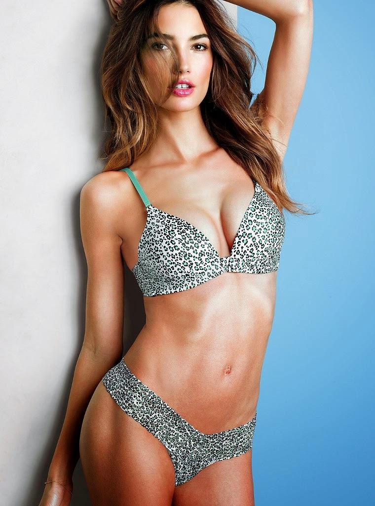 LOS ANGELES CA Lily Aldridge for Victoria's Secret Lingerie, May 2013 (part 2)