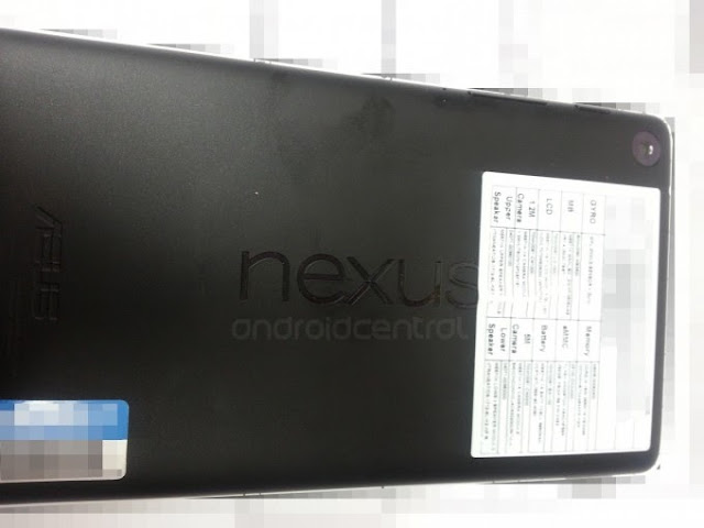 New Nexus 7 leaks