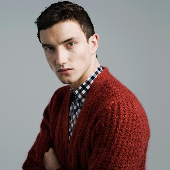chaquetas punto hombre Zara invierno 2012
