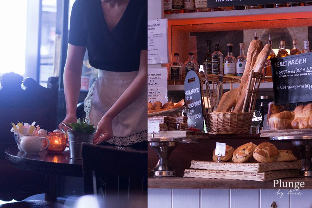 Le Petite Parisien cafe, Dublin