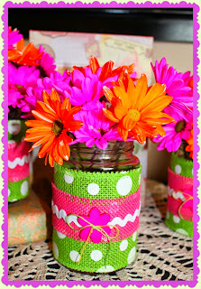 Jar of Flowers