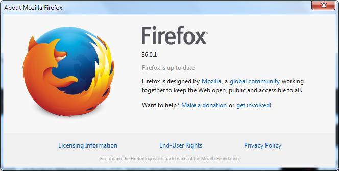 Mozilla Firefox Terbaru Gratis 36.0.1 Offline Installer