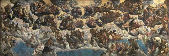 El Paraíso. Tintoretto, 1588