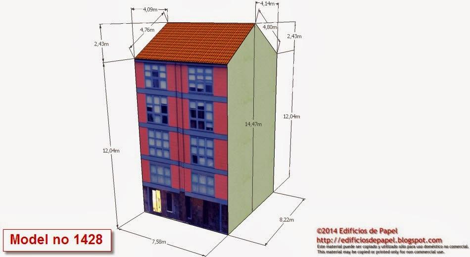 http://edificiosdepapel.blogspot.com - Modelo 1428