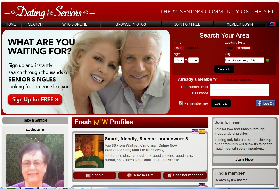 Free senior dating websites