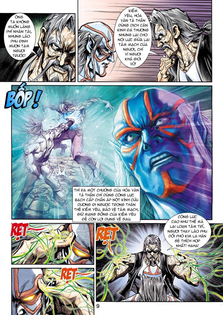 Tân Tác Long Hổ Môn chap 193 - Trang 9