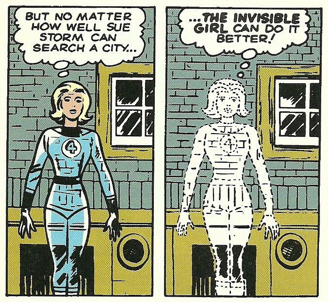 Sue fantastic invisible woman storm four
