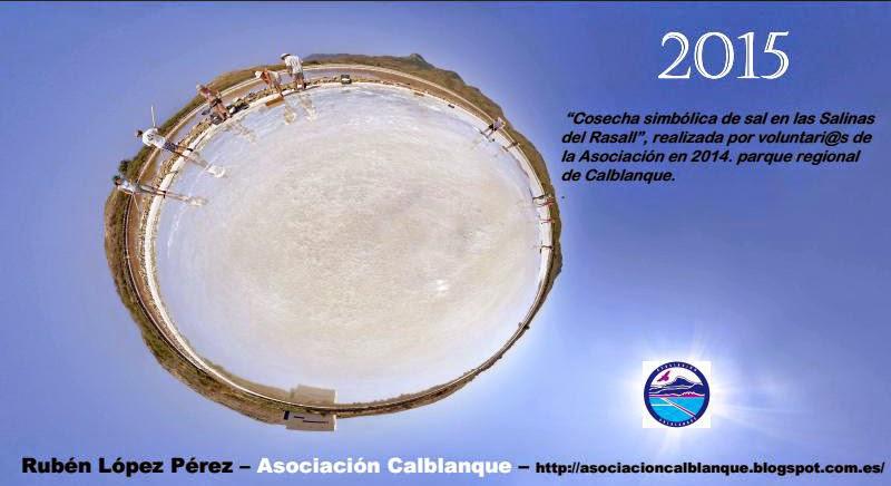 CALENDARIO 2015 ASOCIACION CALBLANQUE