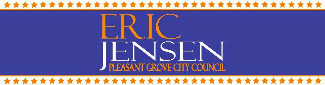 Eric Jensen Pleasant Grove City Council