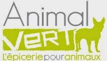 Merci à l'épicerie pour animaux Animal Vert