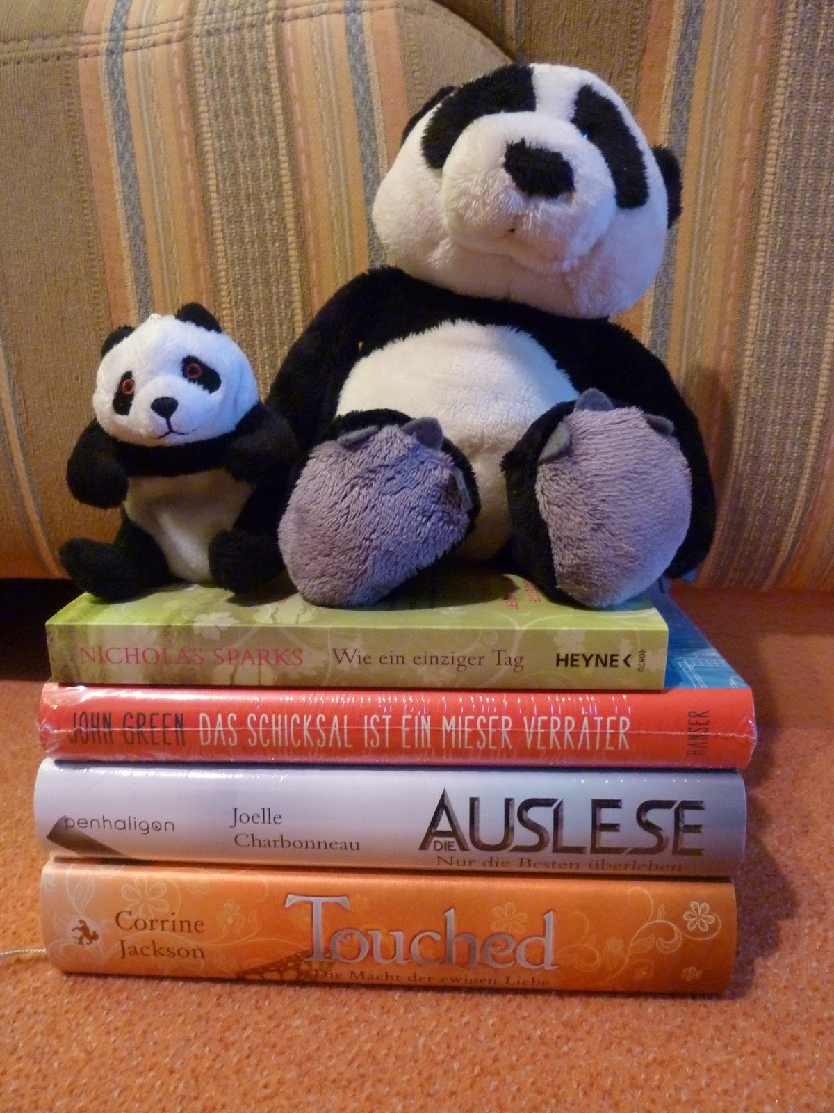 Neuzugänge - Buch Blog - Pandastic Books