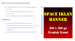 Related post di blogspot