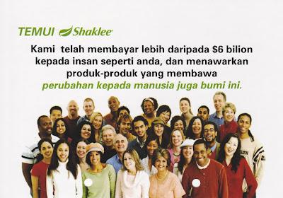Perniagaan MLM Shaklee patuh Syariah