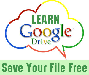 save your file on google drive