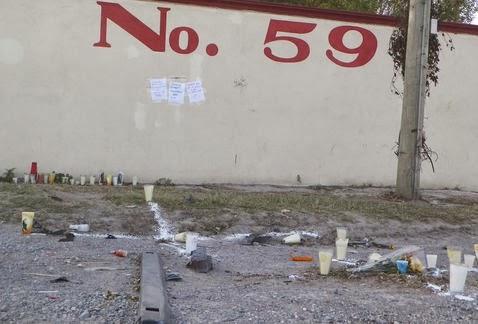Atropellan y matan a cinco estudiantes de la secundaria técnica número 56 en Reynosa