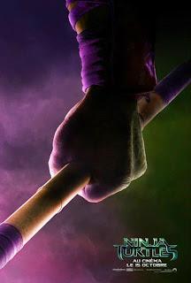 NINJA TURTLES - les 4 premières affiches du film
