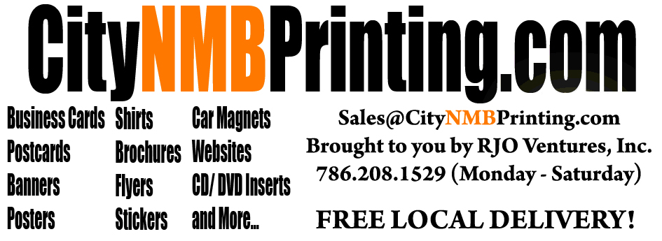 City of North Miami Beach Printing Services: Flyers/Business Cards/Printing in North Miami/Banners