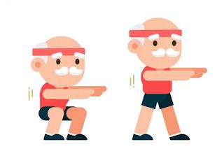 Benefícios da prática de exercícios físicos para Idosos