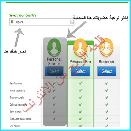 طريقة التسجيل في بنك payza.شرح تغيير معلوماتك الشخصية في البنكpayza.شرح طريقة التفعيل النهائي لبنك payza جديد 2012