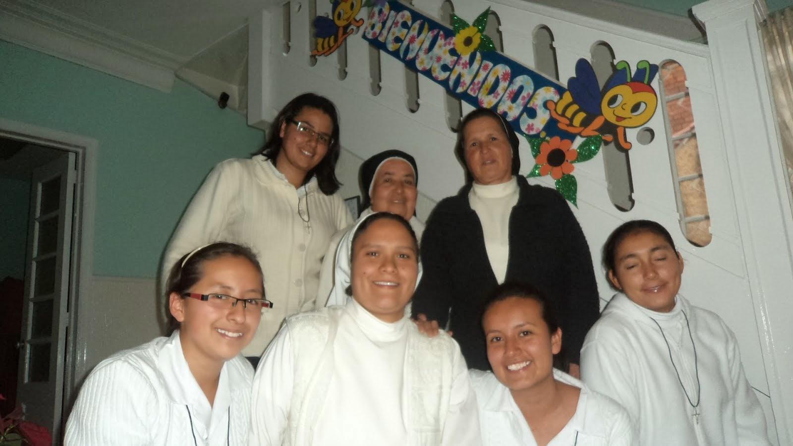 Bienvenidas al Postulantado