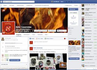 Nefer Ceramistas en Facebook